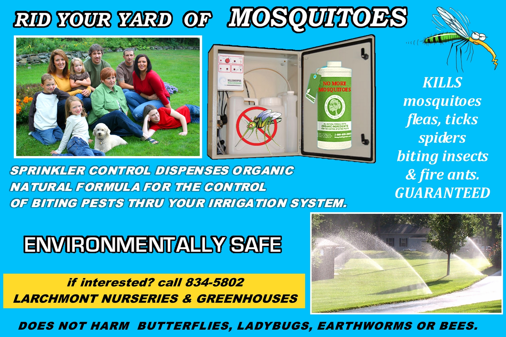 Rid Your Yard Of Mosquitoes. Larchmontnursery